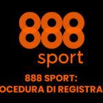 888 Sport la procedura di registrazione