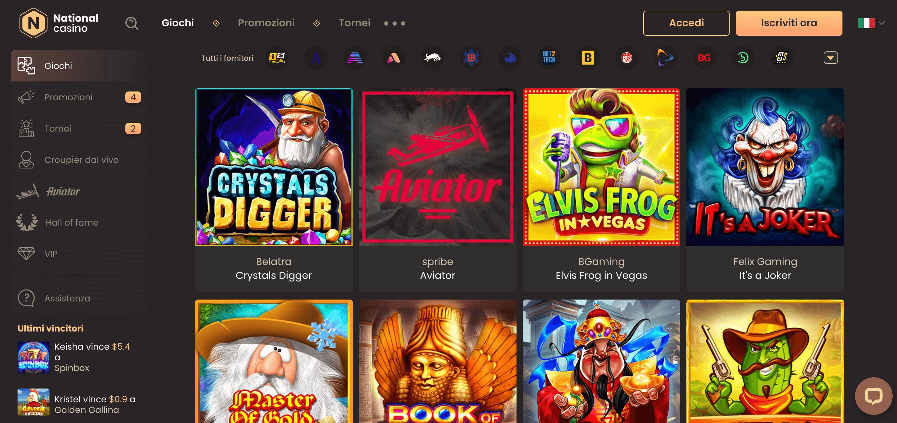 National Casino Slot