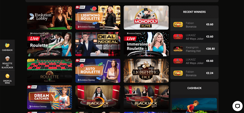 Betchan34 Casino Slot Live