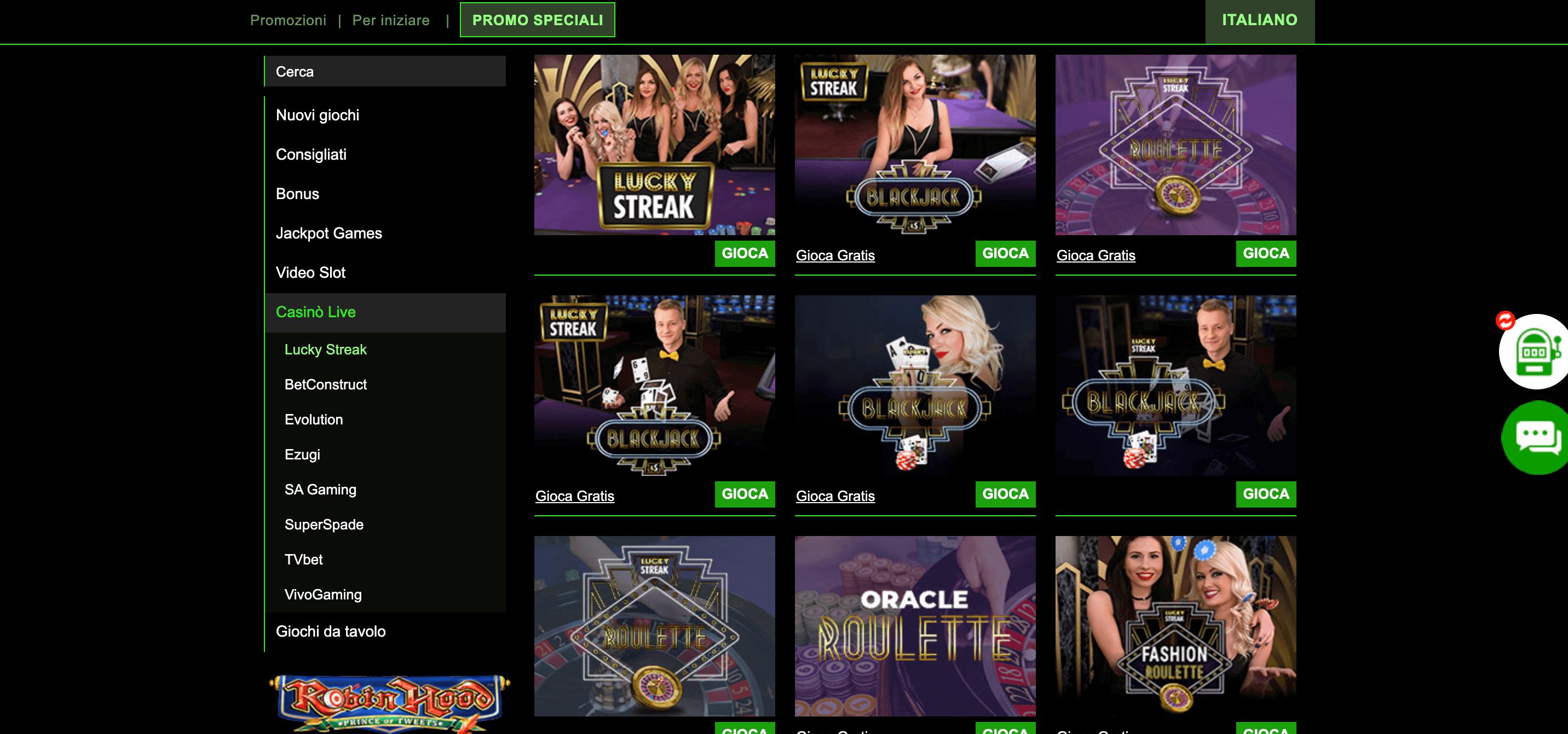 Cashpot Casino Slot Live